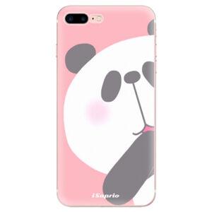 Odolné silikónové puzdro iSaprio - Panda 01 - iPhone 7 Plus