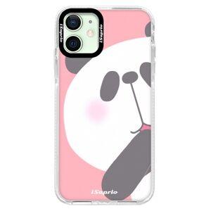 Silikónové puzdro Bumper iSaprio - Panda 01 - iPhone 12