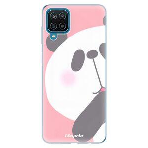 Odolné silikónové puzdro iSaprio - Panda 01 - Samsung Galaxy A12