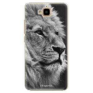 Plastové puzdro iSaprio - Lion 10 - Huawei Y6 Pro