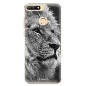 Plastové puzdro iSaprio - Lion 10 - Huawei Y6 Prime 2018