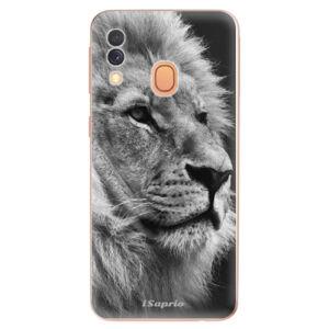 Odolné silikónové puzdro iSaprio - Lion 10 - Samsung Galaxy A40