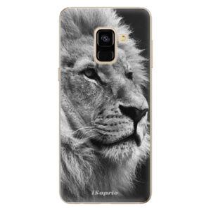 Odolné silikónové puzdro iSaprio - Lion 10 - Samsung Galaxy A8 2018