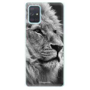 Odolné silikónové puzdro iSaprio - Lion 10 - Samsung Galaxy A71