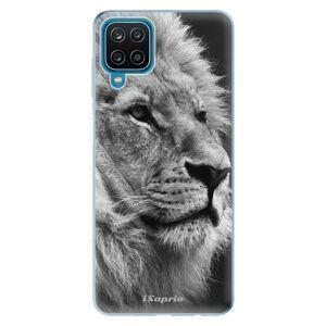 Odolné silikónové puzdro iSaprio - Lion 10 - Samsung Galaxy A12