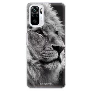 Odolné silikónové puzdro iSaprio - Lion 10 - Xiaomi Redmi Note 10 / Note 10S