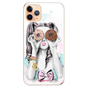 Odolné silikónové puzdro iSaprio - Donuts 10 - iPhone 11 Pro Max