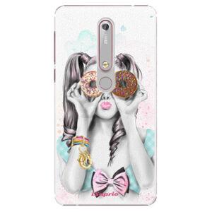 Plastové puzdro iSaprio - Donuts 10 - Nokia 6.1