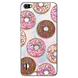 Plastové puzdro iSaprio - Donuts 11 - Huawei Honor 6