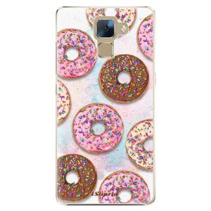 Plastové puzdro iSaprio - Donuts 11 - Huawei Honor 7