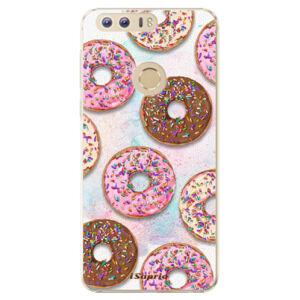 Plastové puzdro iSaprio - Donuts 11 - Huawei Honor 8