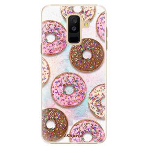 Plastové puzdro iSaprio - Donuts 11 - Samsung Galaxy A6+