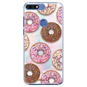 Plastové puzdro iSaprio - Donuts 11 - Huawei Honor 7C