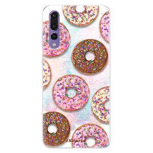 Silikónové puzdro iSaprio - Donuts 11 - Huawei P20 Pro