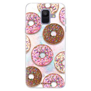 Silikónové puzdro iSaprio - Donuts 11 - Samsung Galaxy A6