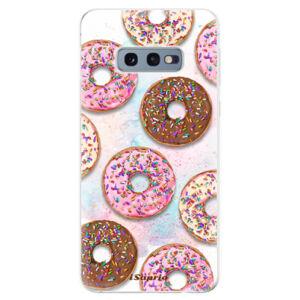 Odolné silikonové pouzdro iSaprio - Donuts 11 - Samsung Galaxy S10e
