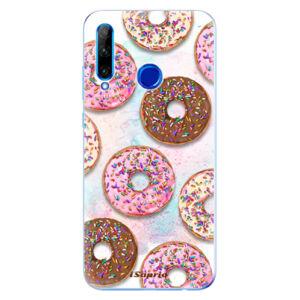 Odolné silikónové puzdro iSaprio - Donuts 11 - Huawei Honor 20 Lite