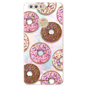 Odolné silikónové puzdro iSaprio - Donuts 11 - Huawei Honor 8