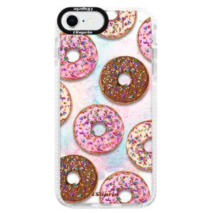 Silikónové puzdro Bumper iSaprio - Donuts 11 - iPhone SE 2020
