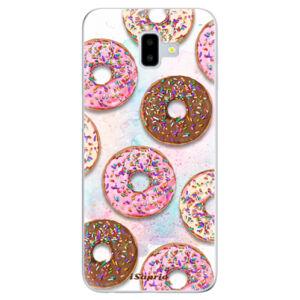 Odolné silikónové puzdro iSaprio - Donuts 11 - Samsung Galaxy J6+