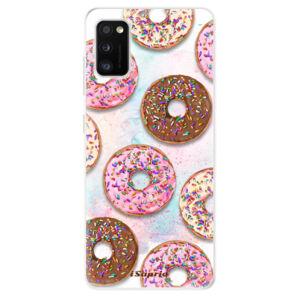 Odolné silikónové puzdro iSaprio - Donuts 11 - Samsung Galaxy A41