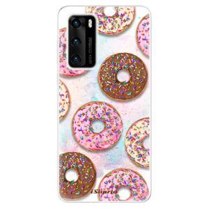 Odolné silikónové puzdro iSaprio - Donuts 11 - Huawei P40