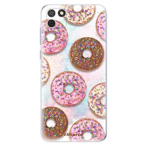 Odolné silikónové puzdro iSaprio - Donuts 11 - Honor 9S