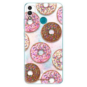 Odolné silikónové puzdro iSaprio - Donuts 11 - Honor 9X Lite