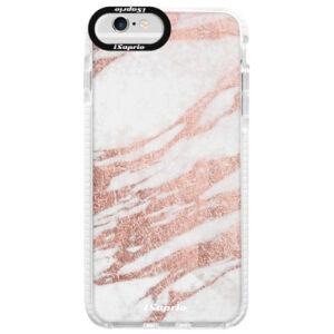 Silikónové púzdro Bumper iSaprio - RoseGold 10 - iPhone 6 Plus/6S Plus