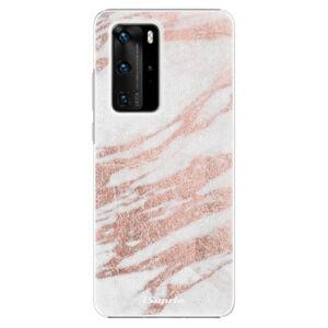Plastové puzdro iSaprio - RoseGold 10 - Huawei P40 Pro