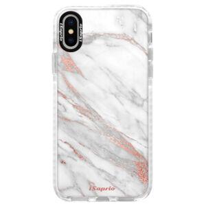 Silikónové púzdro Bumper iSaprio - RoseGold 11 - iPhone X
