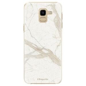 Plastové puzdro iSaprio - Marble 12 - Samsung Galaxy J6