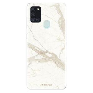 Odolné silikónové puzdro iSaprio - Marble 12 - Samsung Galaxy A21s