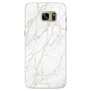 Silikónové puzdro iSaprio - GoldMarble 13 - Samsung Galaxy S7