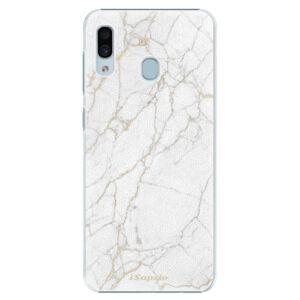 Plastové puzdro iSaprio - GoldMarble 13 - Samsung Galaxy A30
