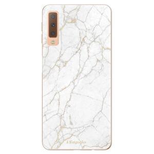 Odolné silikónové puzdro iSaprio - GoldMarble 13 - Samsung Galaxy A7 (2018)