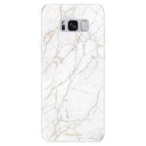 Odolné silikónové puzdro iSaprio - GoldMarble 13 - Samsung Galaxy S8