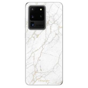 Odolné silikónové puzdro iSaprio - GoldMarble 13 - Samsung Galaxy S20 Ultra