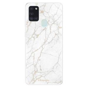 Odolné silikónové puzdro iSaprio - GoldMarble 13 - Samsung Galaxy A21s