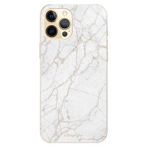 Plastové puzdro iSaprio - GoldMarble 13 - iPhone 12 Pro Max