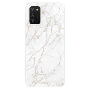 Odolné silikónové puzdro iSaprio - GoldMarble 13 - Samsung Galaxy A02s