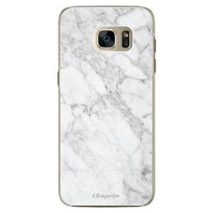 Plastové puzdro iSaprio - SilverMarble 14 - Samsung Galaxy S7