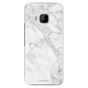 Plastové puzdro iSaprio - SilverMarble 14 - HTC One M9