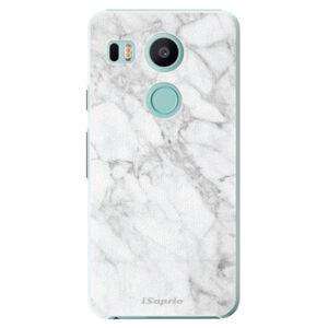 Plastové puzdro iSaprio - SilverMarble 14 - LG Nexus 5X