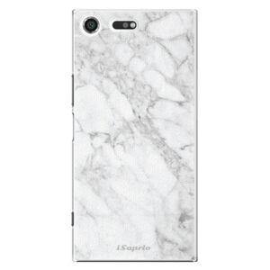 Plastové puzdro iSaprio - SilverMarble 14 - Sony Xperia XZ Premium