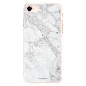 Plastové puzdro iSaprio - SilverMarble 14 - iPhone 8