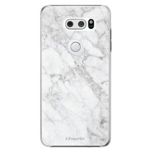 Plastové puzdro iSaprio - SilverMarble 14 - LG V30