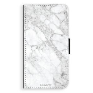 Flipové puzdro iSaprio - SilverMarble 14 - Huawei P10 Plus