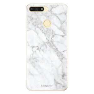 Silikónové puzdro iSaprio - SilverMarble 14 - Huawei Honor 7A