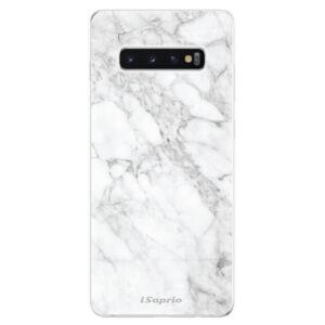 Odolné silikonové pouzdro iSaprio - SilverMarble 14 - Samsung Galaxy S10+